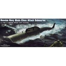Russian Navy SSN Akula Class Attack Submarine 1/350