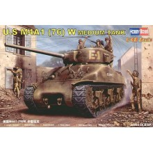 US M4A1 76 SHERMAN 1/48