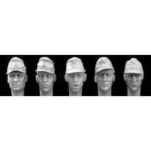 Different heads Africakorps peaked caps/