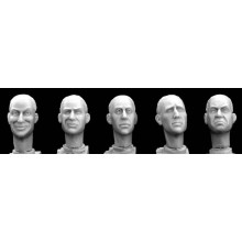 BAREHEADS (CARACTER HEADS) (5) 1/35