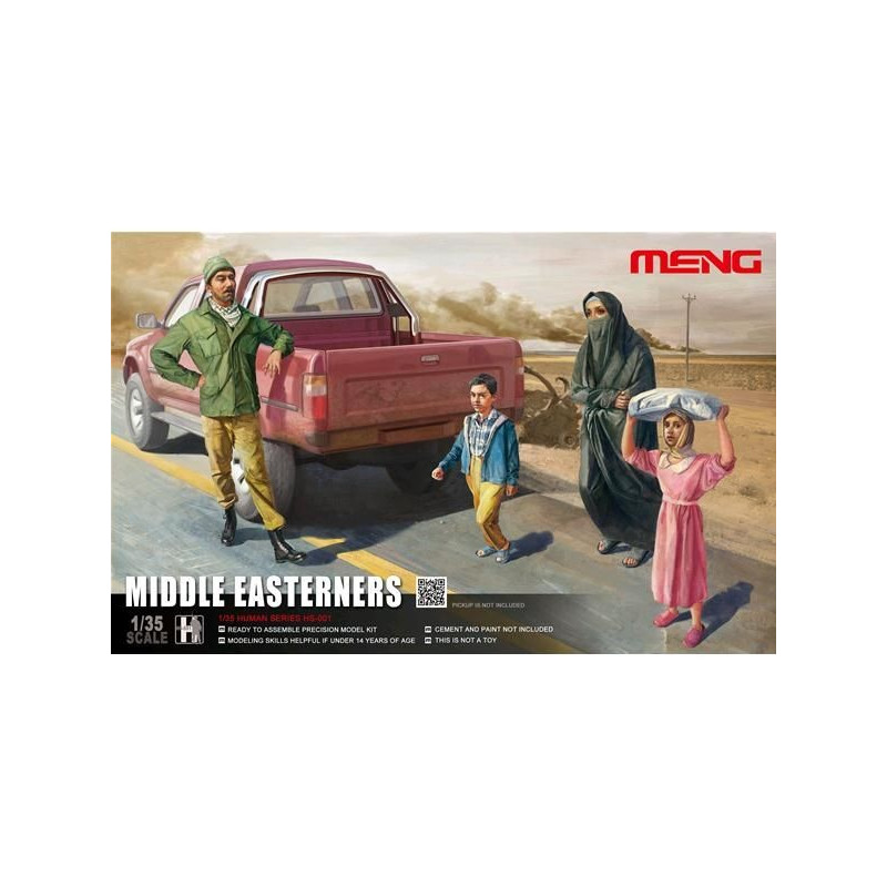 Middle Easterners in the Street 1/35