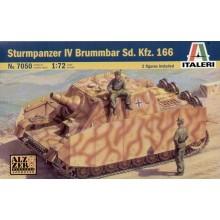 Sd.Kfz.166 Sturmpanzer Brummbar 1/72 ITALERI