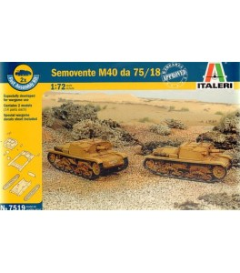 Semovente M40 DA 75/18 1/72