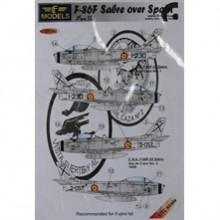 Decals F-86F Sabre over Spain Part I 1/72