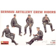 German Artillery Crew Riders 1/35