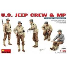 CONDUCTORES JEEP Y POLICIA MILITAR WWII 1/35