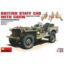 BRITISH COMMAND CAR w/CREW 1/35