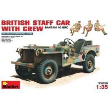 BRITISH COMMAND CAR w/CREW 1/35