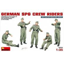 GERMAN SPG CREW RIDERS 1/35