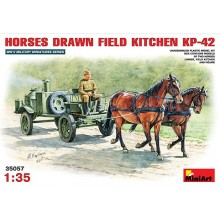 HORSES DRAWN FIELD KITCHEN KP-42 1/35