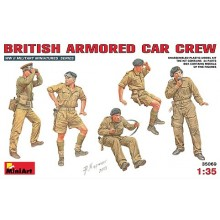 BRITISH ARMORED CAR CREW 1/35