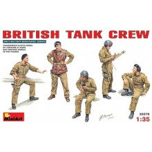 BRITISH TANK CREW WWII 1/35