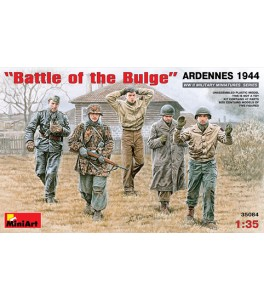 Kampgruppe Pieper, Battle of the Bulge, Ardennes 1944 1/35