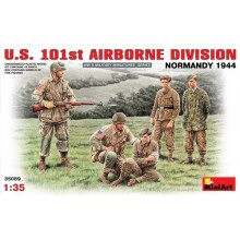 U.S. 101st AIRBORNE DIVISION (NORMANDY 1944) 1/35