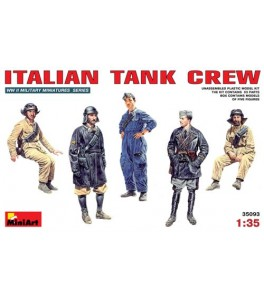 Italian (WWII) Tank Crew 1/35