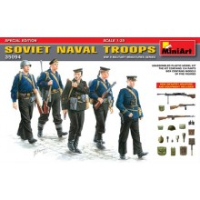 SOVIET  NAVAL TROOPS  1/35