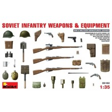 SOVIET INFANTRY WEAPONS EQUIPMENT 1/35