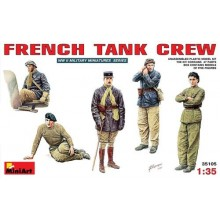French Tank Crew  1/35