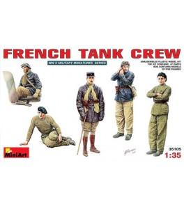 French Tank Crew  1/35
