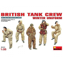 BRITISH TANK CREW. WINTER UNIFORM 1/35