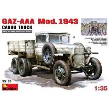 GAZ-AAA Mod. 1943. CARGO TRUCK 1/35