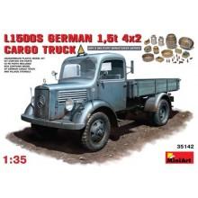 L1500S German 1.5t 4x2 Cargo Truck 1/35