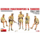 German Paratroopers and Tankers (Italy 1943) 1/35