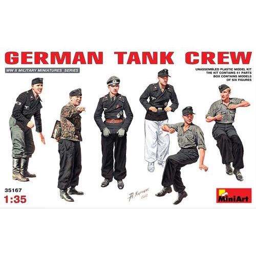 German Tank Crew 1/35