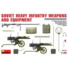 SOVIET HEAVY INFANTRY WEAPONS AND EQUIPMENT 1/35