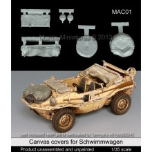 Canvas covers (for Schwimmwagen) 1/35