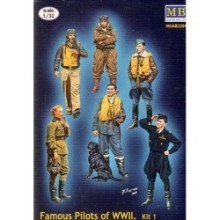 PILOTOS FAMOSOS WWII 1/32