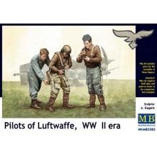 Pilots of Luftwaffe, WWII Era 1/32