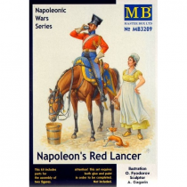 Napoleons Red Lancer, Napoleonic Wars Series 1/32