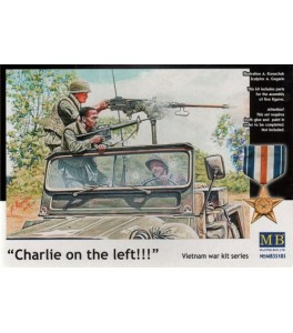 Charlie on the left' 3 x Jeep crew and 2 x Viet Cong Fighters 1/35