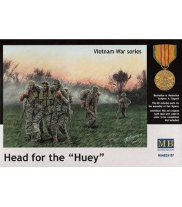 Head for the Huey, Vietnam War series 1/35