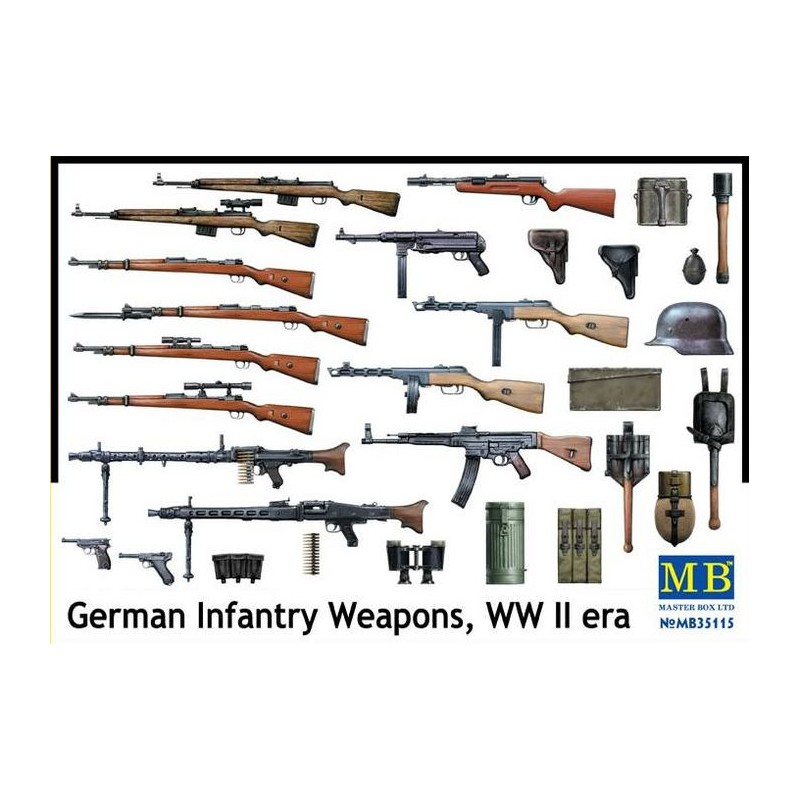 German Infantry Weapons, WWII 1/35