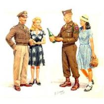 EUROPA, 1945 (4 FIGURAS) 1/35 MB