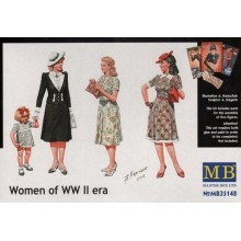 Women of WWII Era 1/35
