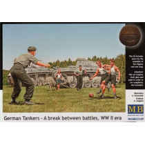 German Tankers - A Break between battles 1/35