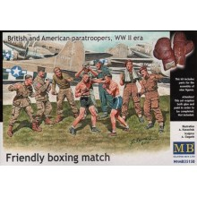 British and American Paratroopers 'Friendly Boxing Match' 1/35