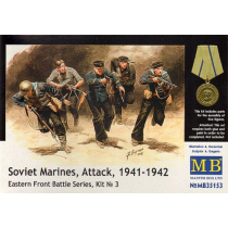 Soviet Marines, Attack, 1941-1942. Eastern Front Battle Series 1/35