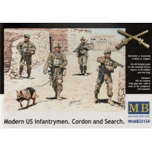 Modern US Infantrymen 'Cordon and Search' 1/35