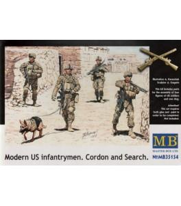 Modern US Infantrymen 'Cordon and Search' 1/35