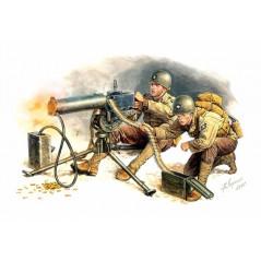 U.S. MACHINE GUNNERS EUROPE 1944, 1/35 MB
