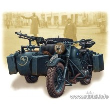German motorcycle, WWII 1/35