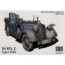 Mercedes-Benz VK-170, command version (3 in 1) 1/35