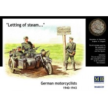 German motorcyclists, 1940-1943 1/35