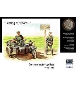 German motorcyclists, 1940-1943 1/35