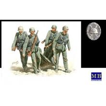 Casualty Evacuation, German Infantry, 1/35