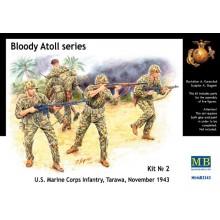 'Bloody Atol' U.S. Marine Corps Infantry, Tarawa 1/35
